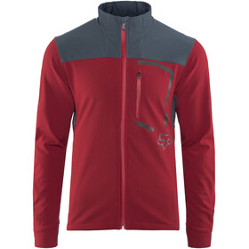 Fox Attack Fire Jas Heren rood/blauw